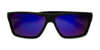 Folded of BG Floating 1801 by Body Glove in Black Frame with Purple Mirrored Lenses