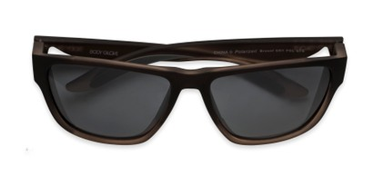 Folded of Brosef by Body Glove in Grey Fade Frame with Smoke Lenses