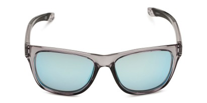 Front of BG Floating 2002 by Body Glove in Grey Frame with Blue Mirrored Lenses