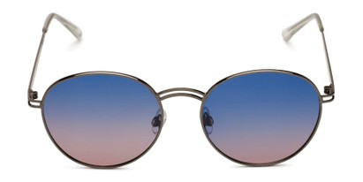 Front of BGL1902 by Body Glove in Gunmetal Grey Frame with Blue/Pink Mirrored Gradient Lenses