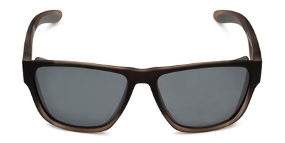 Front of Brosef by Body Glove in Grey Fade Frame with Smoke Lenses