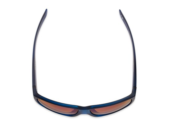Overhead of George by Scin in Blue Frame with Blue Mirrored Lenses