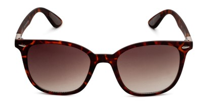 Front of Landry in Tortoise Frame with Amber Gradient Lenses