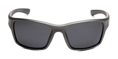 Front of Mitchell in Grey/Black Frame with Smoke Lenses
