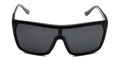 Front of Ryland in Matte Black Frame with Smoke Lenses