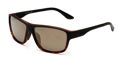 Angle of Vapor 2001 by Body Glove in Tortoise Frame with Brown Lenses, Men's Square Sunglasses
