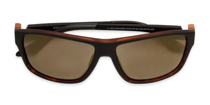 Folded of Vapor 2001 by Body Glove in Tortoise Frame with Brown Lenses
