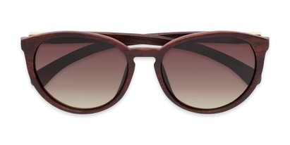 Folded of Sabine #3215 in Brown Frame with Amber Lenses