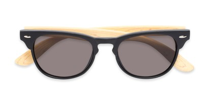 Folded of Sawyer #54092 in Black/Tan Frame with Grey Lenses