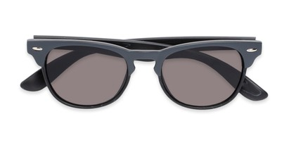 Folded of Sawyer #54092 in Grey/Black Frame with Grey Lenses