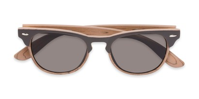 Folded of Sawyer #54092 in Brown/Light Brown Frame with Grey Lenses