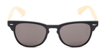 Front of Sawyer #54092 in Black/Tan Frame with Grey Lenses