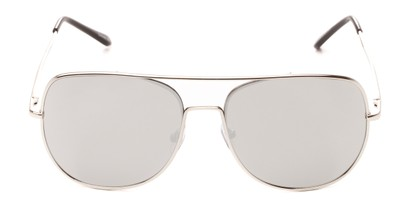 metal mirrored aviators spring temples