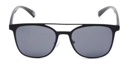 Front of Snyder #6214 in Black Frame with Grey Lenses