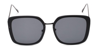 Front of Solstice #4041 in Black Frame with Grey Lenses