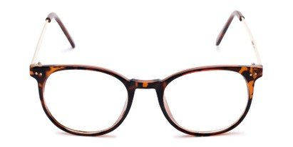 Front of Staff #6702 in Tortoise Frame with Clear Lenses