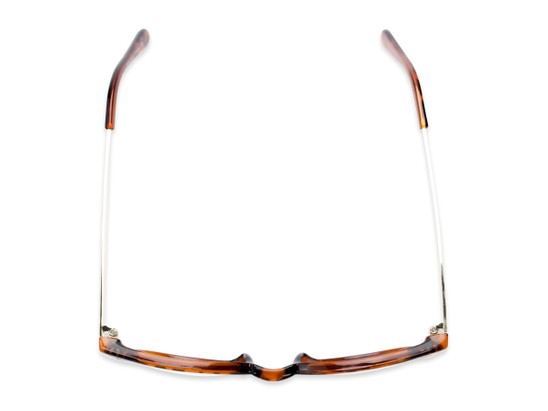 Overhead of Staff #6702 in Tortoise Frame with Clear Lenses