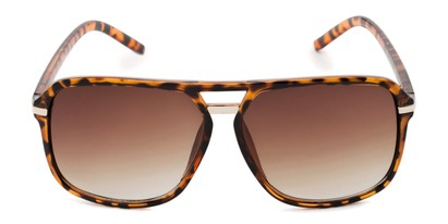 Front of Starboard #6118 in Matte Tortoise Frame with Amber Lenses