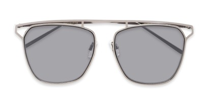 Folded of Suffolk #3151 in Matte Grey Frame with Smoke Gradient Lenses