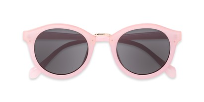 Folded of Tide #7091 in Glossy Pink/Gold Frame with Grey Lenses