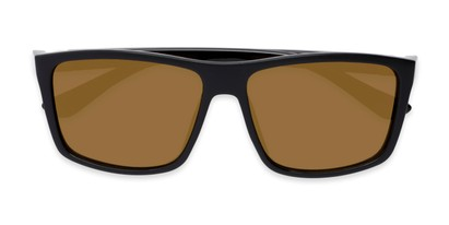 Folded of Travis #54109 in Black Frame with Gold Mirrored Lenses