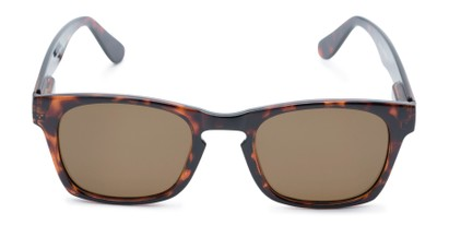 Front of Trent #3389 in Tortoise Frame with Amber Lenses