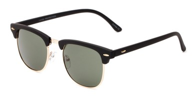 5fa2f545a061 Angle of Tuck  6445 in Black Gold Frame with Green Lenses