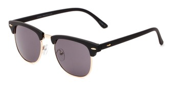 4bb1d6f2f9 Angle of Tuck  6445 in Black Gold Frame with Grey Lenses
