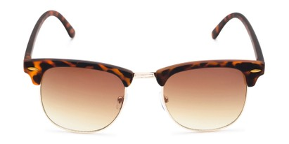 Front of Tuck #6445 in Tortoise/Gold Frame with Amber Lenses