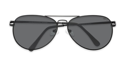 Folded of Vista #9270 in Black Frame with Grey Lenses