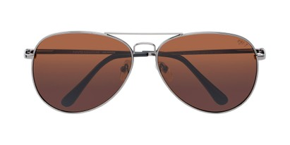Folded of Vista #9270 in Grey Frame with Amber Lenses