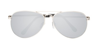 Folded of Vista #9270 in Silver Frame with Mirrored Lenses