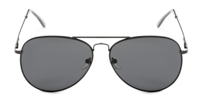 Front of Vista #9270 in Black Frame with Grey Lenses