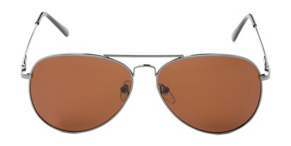 Front of Vista #9270 in Grey Frame with Amber Lenses