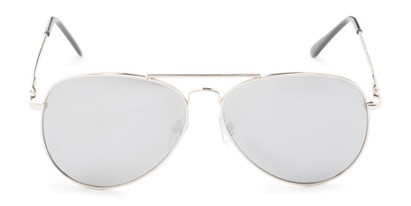 Front of Vista #9270 in Silver Frame with Mirrored Lenses