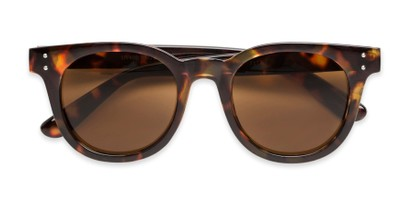 Folded of Waterloo #71271 in Tortoise Frame with Amber Lenses
