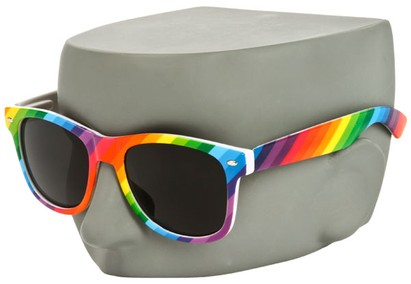 Image #3 of Women's and Men's SW Rainbow Retro Style #1930