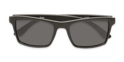 Folded of Whitford #6045 in Matte Black Frame with Smoke Lenses