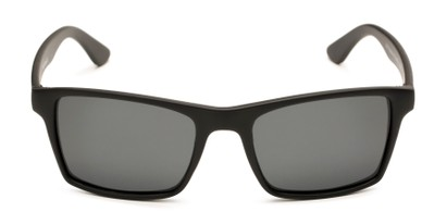 Front of Whitford #6045 in Matte Black Frame with Smoke Lenses