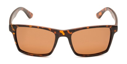 Front of Whitford #6045 in Matte Tortoise Frame with Amber Lenses