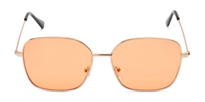 Front of Willamette #17260 in Gold Frame with Living Coral Lenses