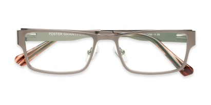 Folded of Wilson #2202 in Grey Frame with Grey Lenses