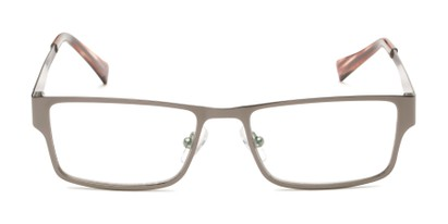 Front of Wilson #2202 in Grey Frame with Grey Lenses