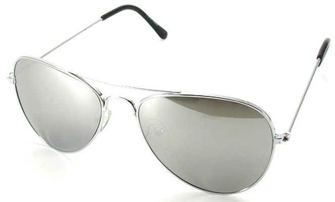 aviator sunglasses for men mirrored  Mirrored Aviator Sunglasses