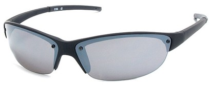 Angle of Talus #1245 in Matte Black Frame, Women's and Men's Sport & Wrap-Around Sunglasses