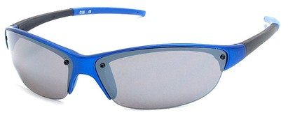 Angle of Talus #1245 in Blue Frame, Women's and Men's Sport & Wrap-Around Sunglasses