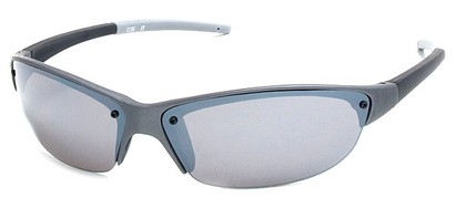 Angle of Talus #1245 in Grey Frame, Women's and Men's Sport & Wrap-Around Sunglasses