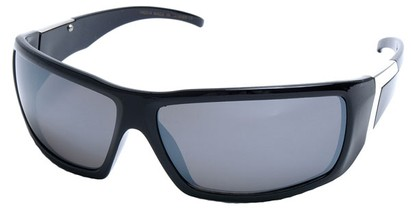 Angle of SW Sport Style #422 in Glossy Black Frame, Women's and Men's