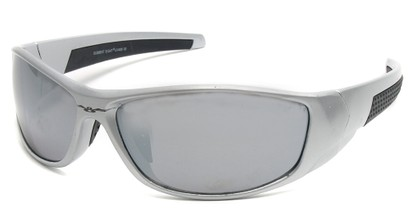 Angle of SW Sport Style #18111 in Silver Frame, Women's and Men's