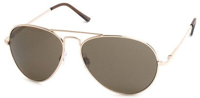 Angle of Jetsetter #1192 in Gold Frame with Amber Lenses, Women's and Men's Aviator Sunglasses